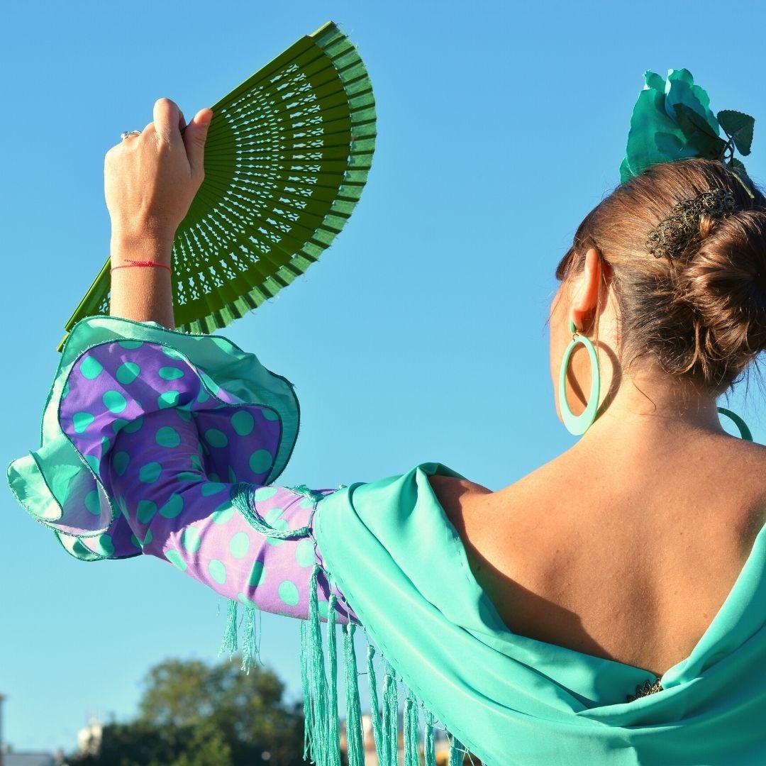 La tradicional Feria de abril de Sevilla