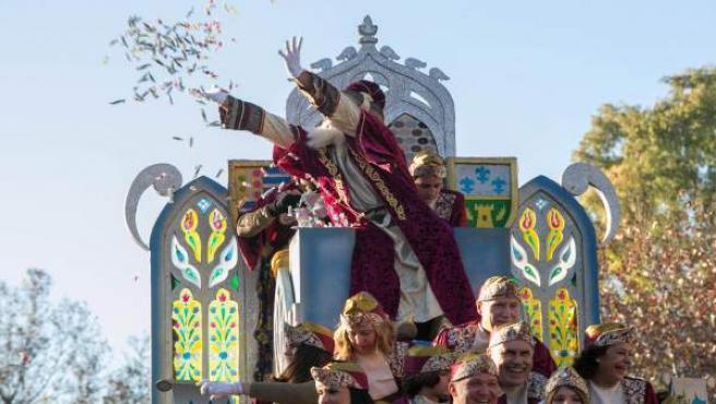 La Cabalgata de Reyes Magos de Sevilla es de las más largas de España